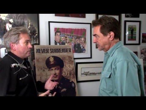 Joe Mantegna and Steven Barber