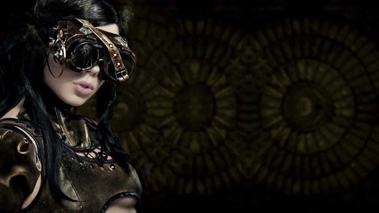 wallpapers steampunk girl eyes - photo #17
