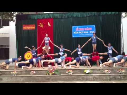 Nhảy Erobic - Học sinh Trường THPT Nguyễn Cảnh Chân