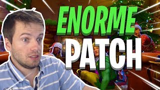 🔴 [FORTNITE] REVOLVER A LUNETTE! A HUGE PATCH VA BIENTER WITH PLEIN OF NEW!