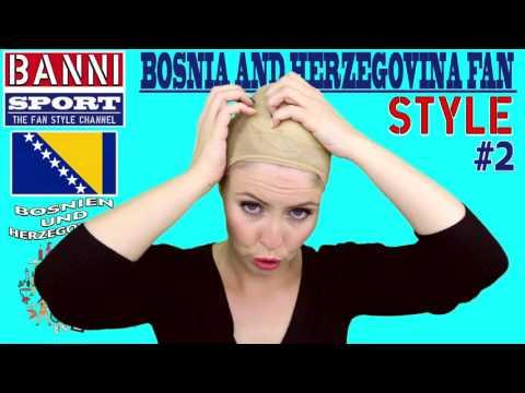 Bosnien Herzegowina Bosna i Hercegovina Bosnia Herzegovina - Sport Fan Style & National Make-up #2