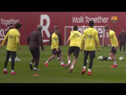 Download Goals galore in training ahead of Getafe clash! ⚽