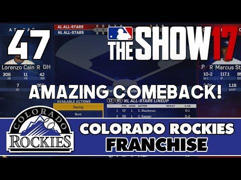 "MLB The Show 17 Rockies Franchise ep. 47 - ""Amazing Comeback!"" (2019 MLB All-Star Game)"