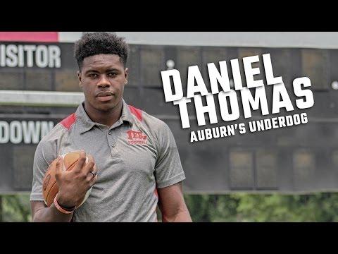 Meet Auburn freshman DB Daniel Thomas
