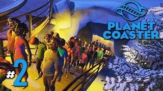 เครื่องหมุนติ้ว ทิวเขาคลั่ง - Planet Coaster #2(มีต่อๆๆๆ)