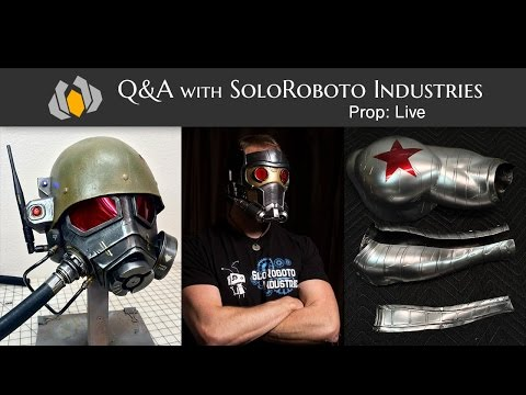 Prop: Live - Q&A with SoloRoboto Industries - 5/7/2015