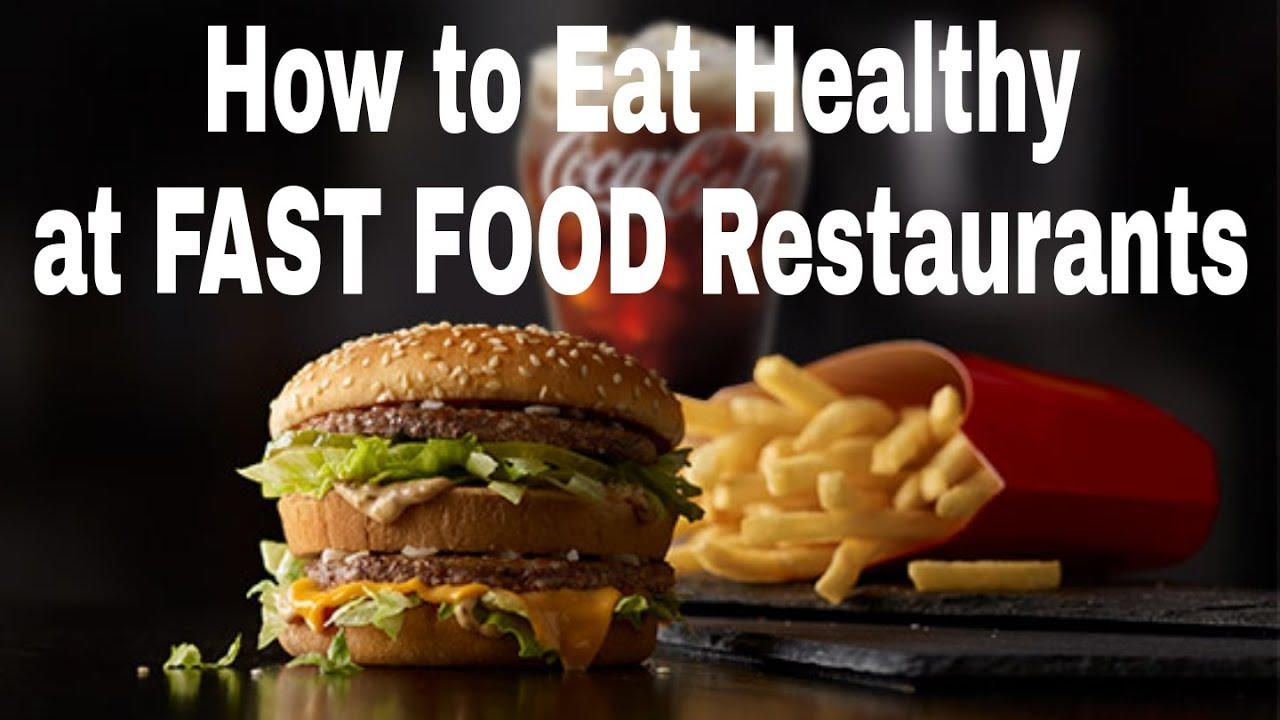 fast food is not healthy Have you ever wondered if those healthy fast food meals are really any better for you mcdonald's has the fruit 'n yogurt parfait, wendy's offers garden se.