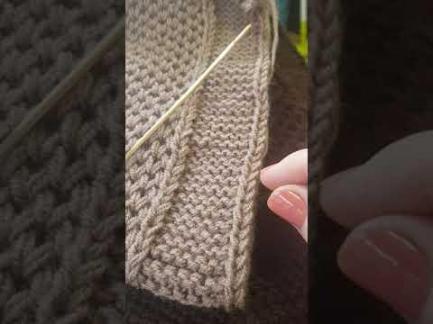 Вязаное спицами пальто для женщин полных женщин