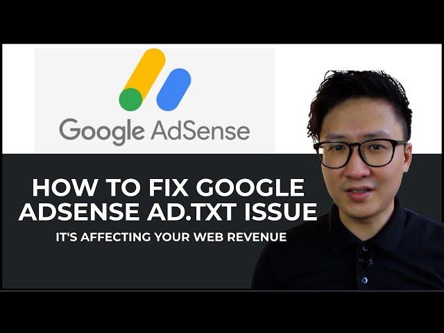 Tutorial to Fix Google AdSense Ads.txt Issue - Easy2Digital