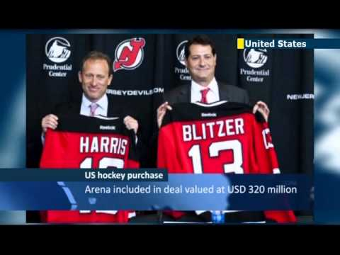 Private equity execs buy New Jersey hockey team: Joshua Harris and David Blitzer purchase Devils