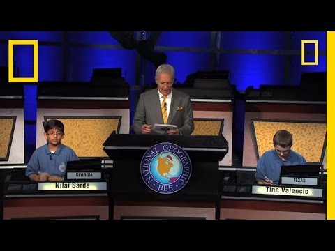 Tense Final Moments  National Geographic Bee