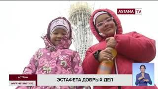 В Астане детям с онкозаболеваниями показали достопримечательности столицы(, 2016-09-30T16:27:00.000Z)