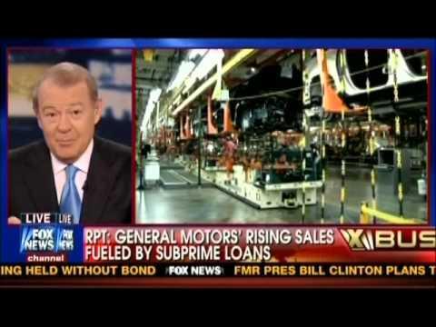 GM making risky subprime loans to prop up Obama bailout myth