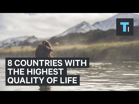 8 countries with the highest quality of life