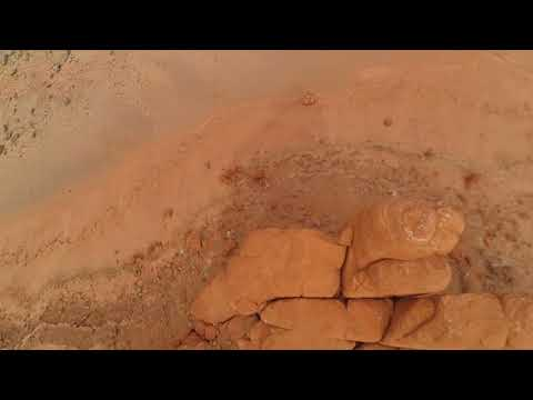 Flying my racing drone while on my long distance commute through Utah and Arizona