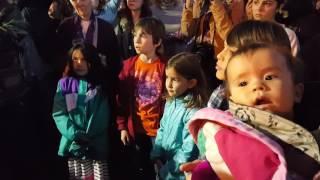 Santa Fe Water Protector, Standing Rock Rally  Nov 15, 2016 Clip 3