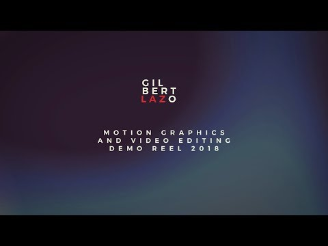 Motion Graphics and Video Editing Demo Reel 2018