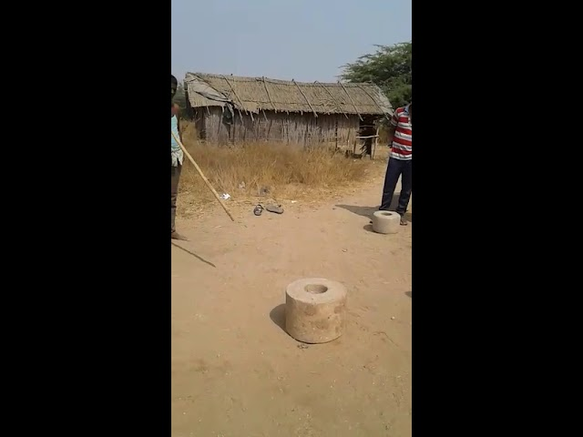 Single hand stone lifting by p.r.yadav