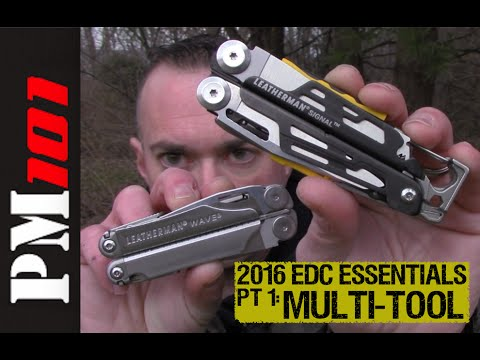 2016 EDC Essentials PT 1: The Multi-Tool (Wave vs. Signal)- Preparedmind101