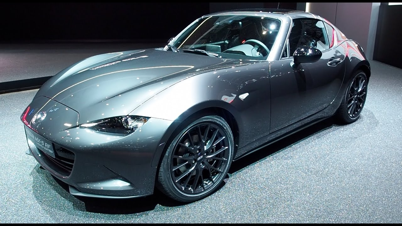 Mazda Mx 5 Rf Launch Edition 2017 In Detail Review Walkaround Interior Exterior