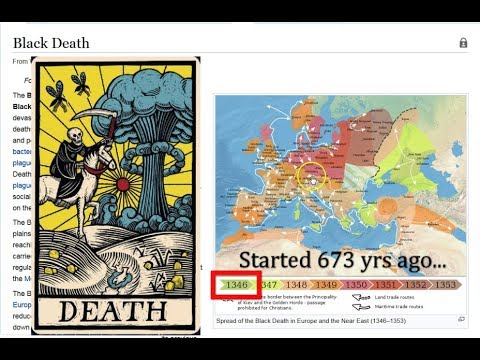 Time Mirror! Abraham/Jesus 3 X 14 Generations = 2019! 673 Separate, Depart! 13 46 Black Death!