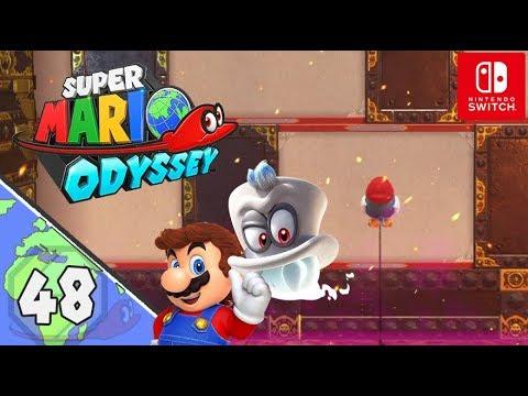 Super Mario Odyssey Let's Play ★ 48 ★ Mit einem Vogel nach oben ★  Deutsch