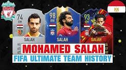 MOHAMED SALAH | FIFA ULTIMATE TEAM HISTORY 😱🔥| FIFA 14 - FIFA 19