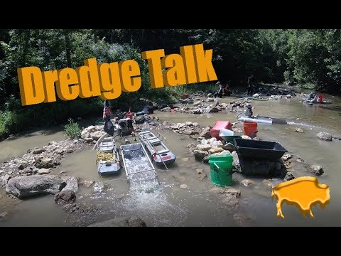 Dredge Talk: Different Dredges for Gold Prospecting