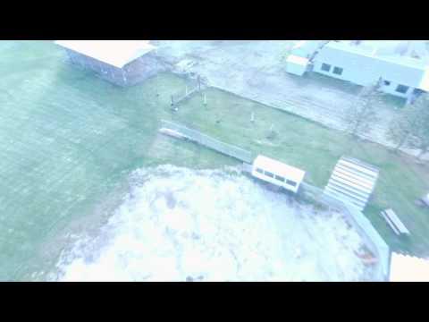 Bebop 2 flight @ Illinois Valley High School's baseball field.