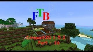 Minecraft - Direwolf20 1.5.2 FTB modpack - Part 16 - Breeding villagers