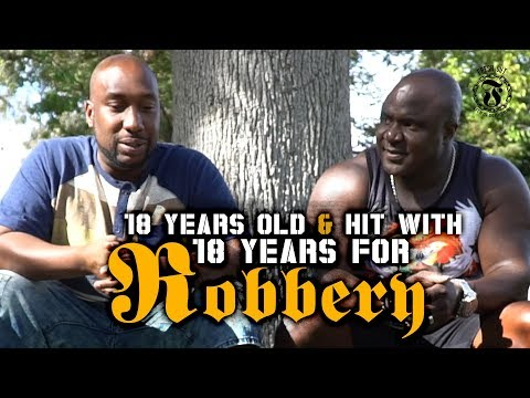 18 years old & hit with 18 years for Robbery - Fresh Out: Life After The Penitentiary