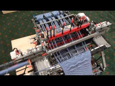 Project Weav3r: A LEGO Jacquard Loom