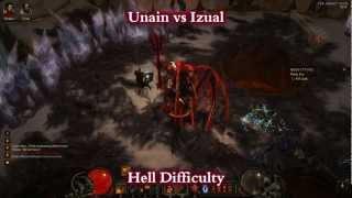 Barbarian vs Izual (Hell difficulty)