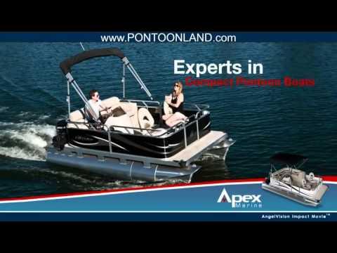 Apex Marine Compact Pontoon Boats