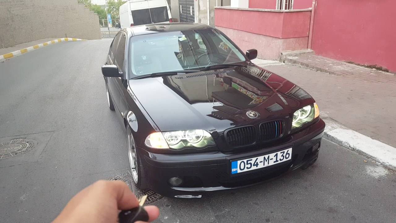 Follow Me Home lights on bmw e46 320 - YouTube