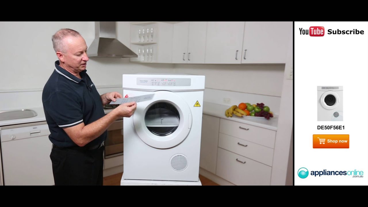 De50f56e1 Fisher Paykel 5kg Dryer Reviewed By Expert Appliances Online Youtube