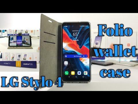 Lg Stylo 4 Metro Pcst Mobile Folio Protective Wallet Case Youtube