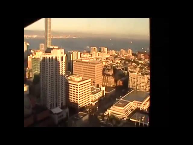 Tramonto a San Francisco dal Mariott Hotel