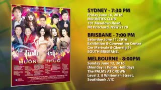 ASE proudly presents: Tình Ca Muôn Thuở (Live Show Australia)