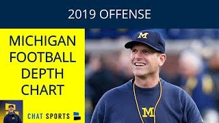 Michigan Football 2019 Depth Chart - Offense: Projecting Josh Gattis' Starters And Backups In Game 1