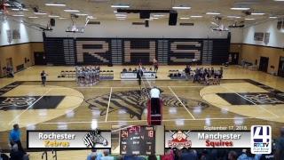Rochester Volleyball vs Manchester