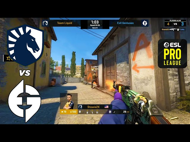 Liquid vs EG - ESL Pro League - HIGHLIGHTS l CSGO