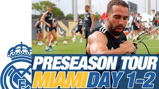 Real Madrid USA Tour | Bale, Vinicius, Rain... | DAY 1 & 2