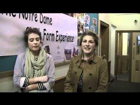 Notre Dame High School Leavers 2011 interviews