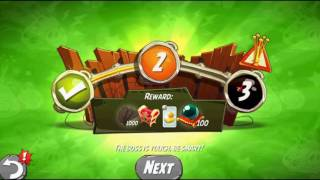 Beat The Daily Challenge King Pig Panic Completed in Angry Birds 2 SATUDAY(2)