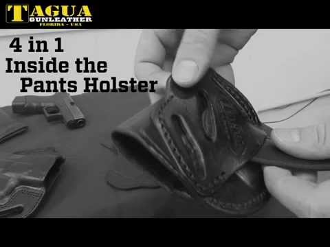Tagua 4 in 1 Inside the Pant Holster (IPH4 Holster)