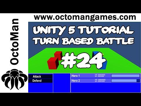 Unity 5 Tutorial: Turn Based Battle System #24 - Start Battle & Win Battle