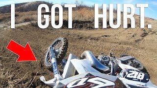 I GOT HURT & ABANDONED ON THE MX TRACK