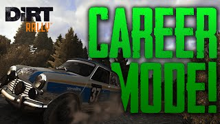 DiRT Rally Career Mode Gameplay - We Need Power!   PS4 1080p/60fps