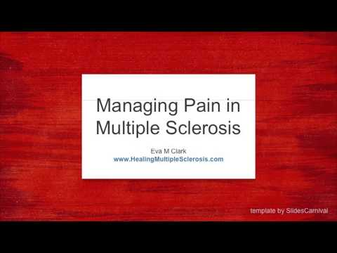 Managing Pain in Multiple Sclerosis